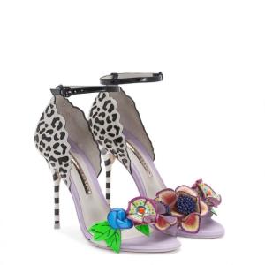 Sophia Webster Lilico Jungle White Sandal 2