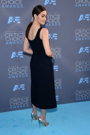 Emmy Rossum 2016-01-17 Critics Choice Awards