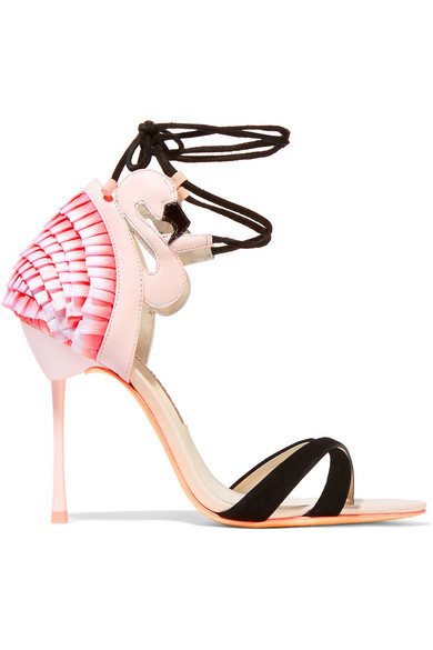Sophia Webster Flamingo Frill Sandals
