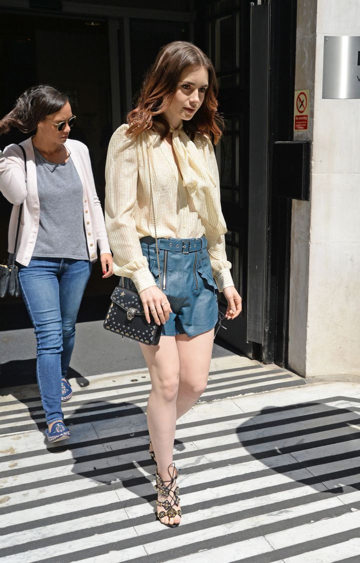 Look Of The Day: LilyCollins