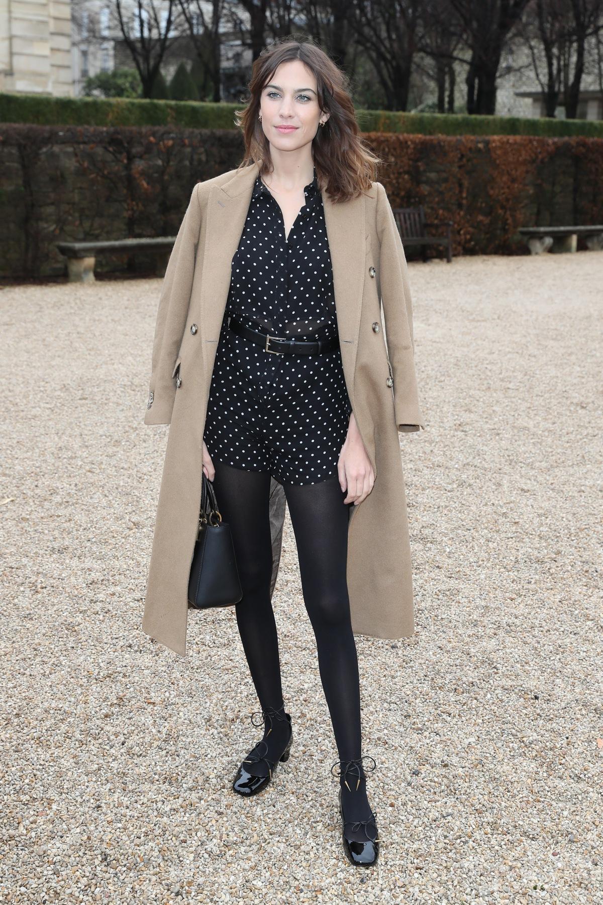 Dior : Arrivals - Paris Fashion Week - Haute Couture S/S 2018